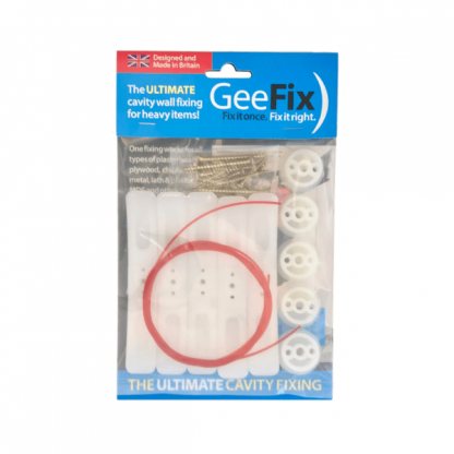 GeeFix Cavity Wall Fixing 5 pack shot